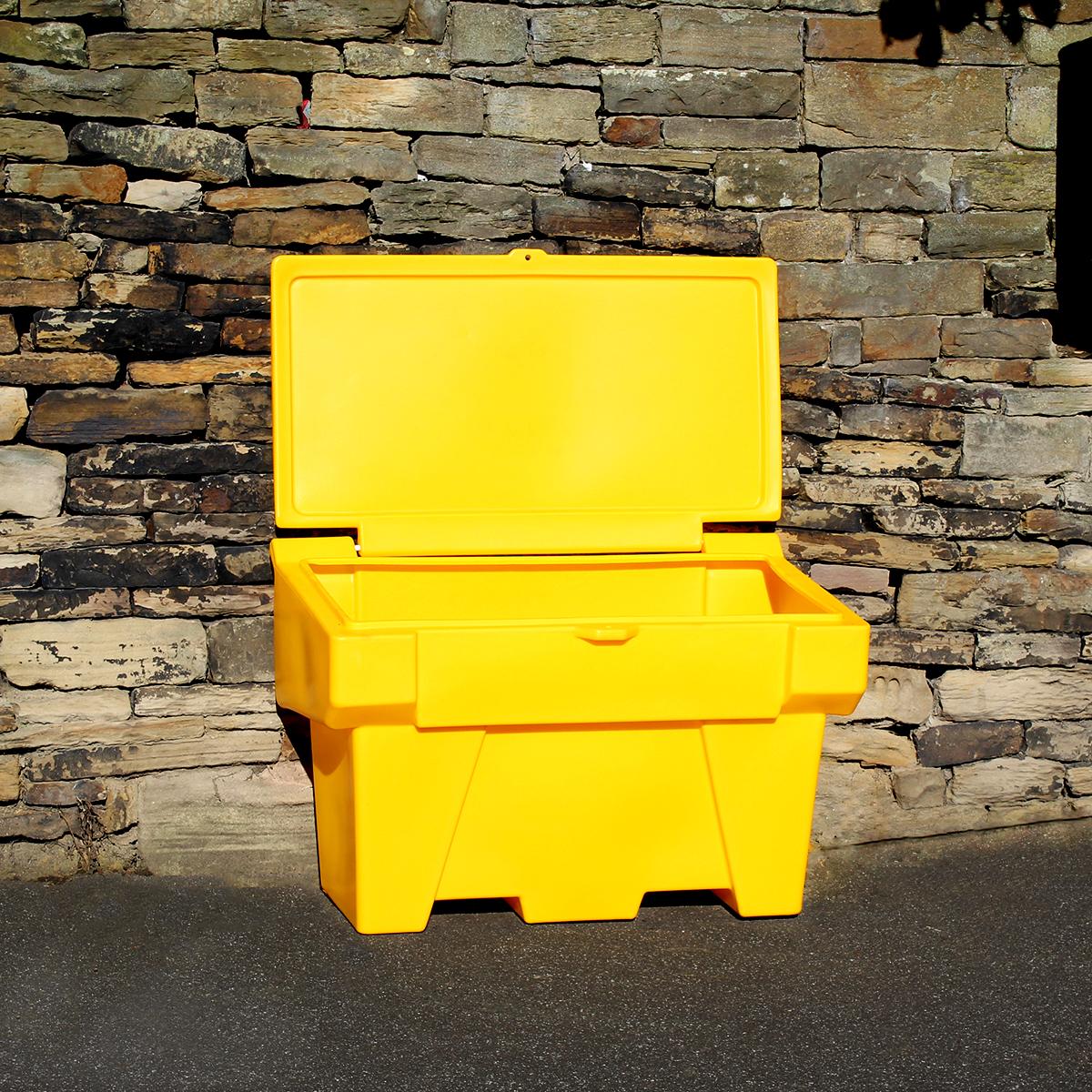 yellow-grit-bin-open