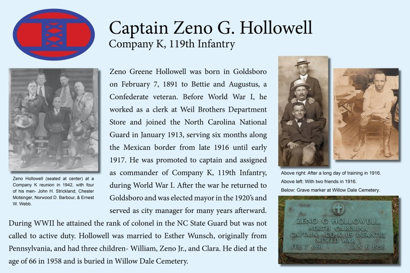 Captain Zeno Hollowell, Company K commander