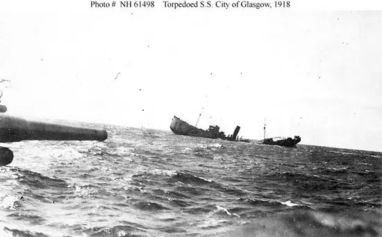 City of Glasgow sinking