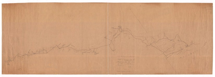Atlantic and NC Railroad geological survey, 1853
