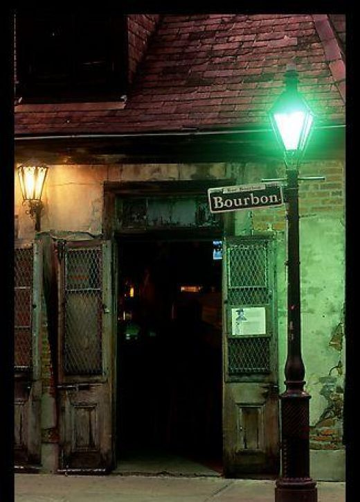 Dark corners in New Orleans past