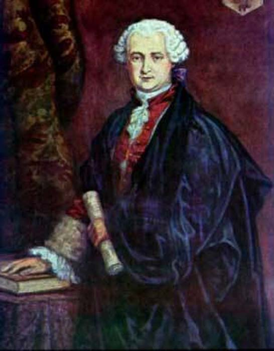 Portrait of Comte Saint Germaine