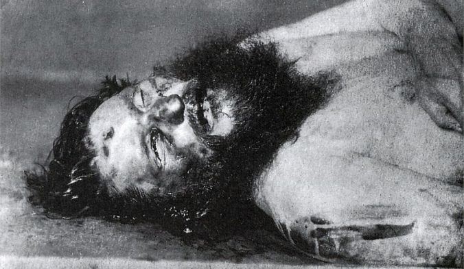 The body of Grigori Rasputin