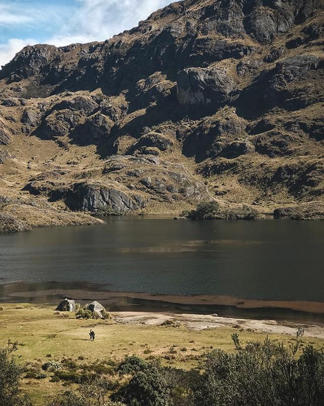 Área protegida del Parque Nacional Cajas
