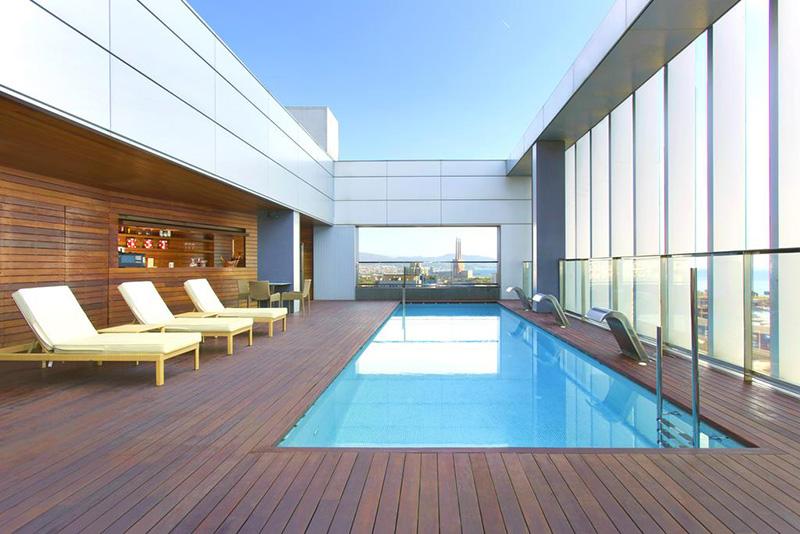 Hoteles en el Fórum de Barcelona