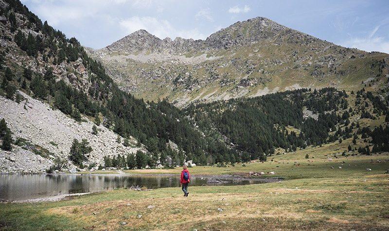 Acceso al Parque Nacional d'Aigüestortes desde Boí