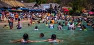 Playa La Entrega en Huatulco