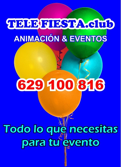 Telefiesta.club Animación y Eventos - 629 100 816