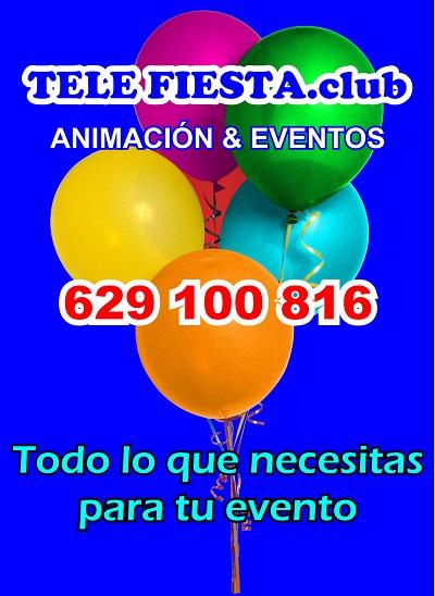 Telefiesta.club Animación y Eventos - 629 100 816