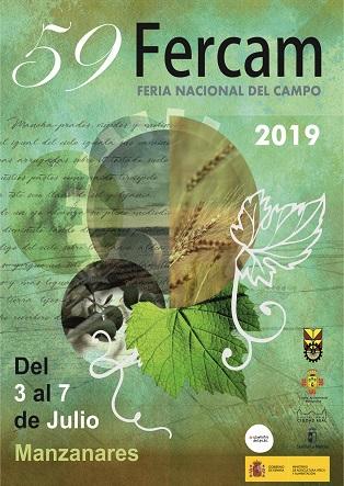 FERCAM 2019 - 59 Feria Nacional del Campo - Del 3 al 7 de Julio. MANZANARES