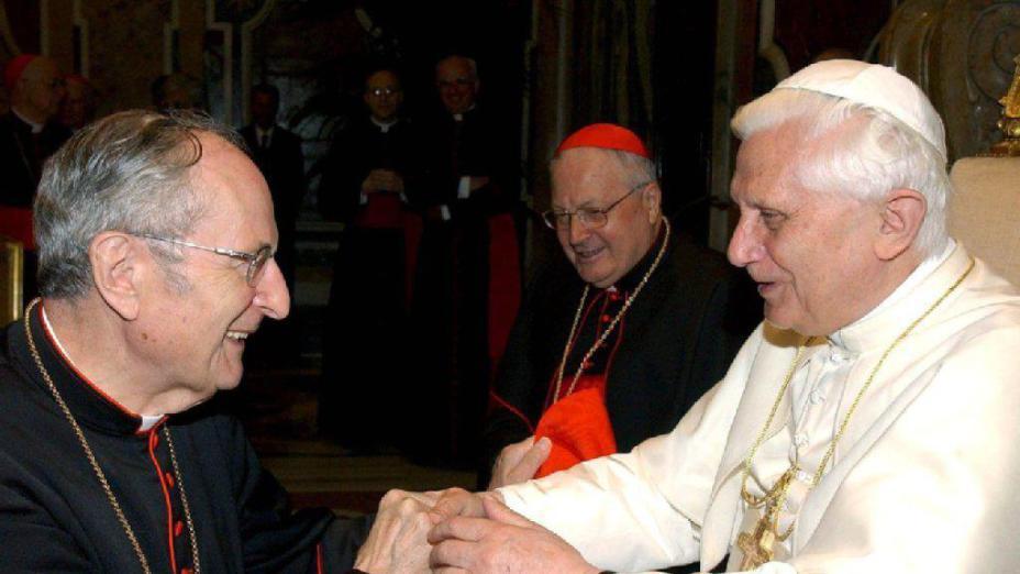Parole di saluto di Benedetto XVI per la Messa da requiem per Joachim Meisner, uno dei quattro cardinali dei dubia