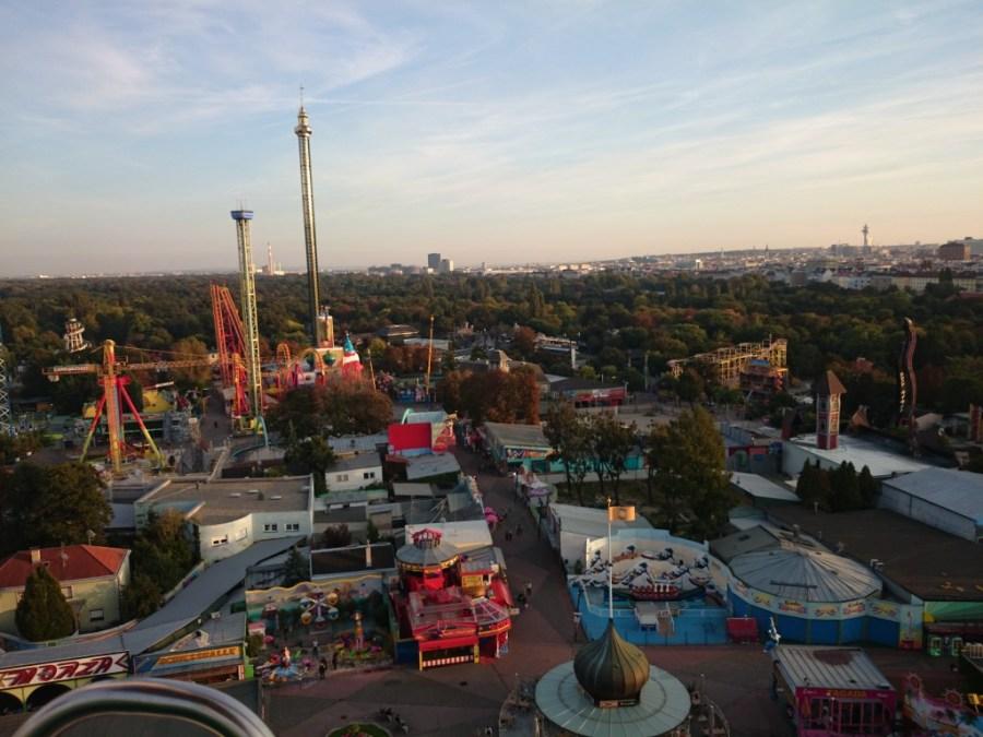 Parque Prater en Viena.