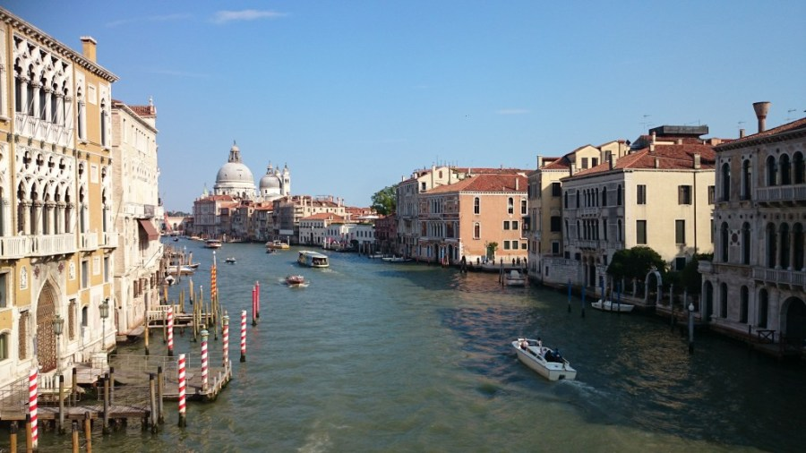 Qué ver en Venecia. Gran Canal.