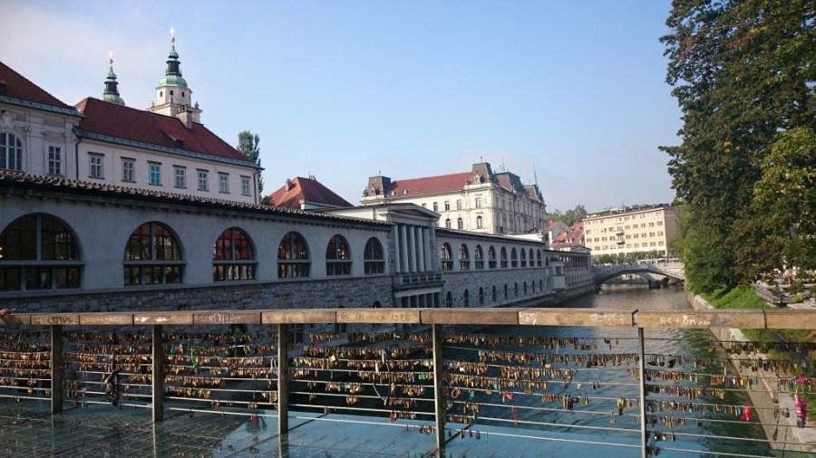 Puentes sobre el Ljubljanica.