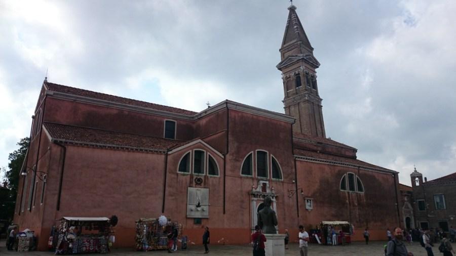 Iglesia de San Martino. Burano