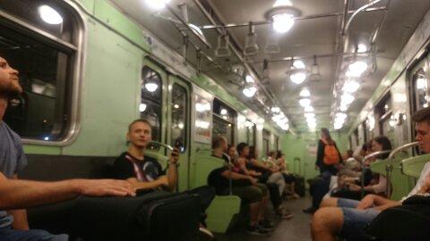 Viejo metro de Budapest. Cómo viajar solo por primera vez.