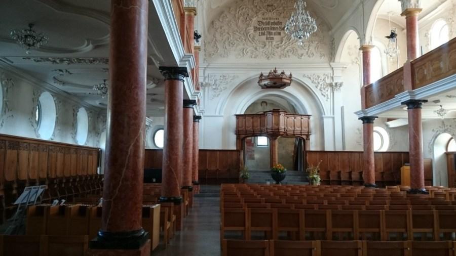 Peterskirche desde dentro.