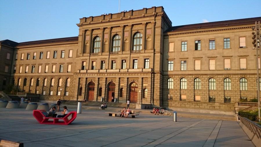 Qué ver en Zúrich. Univerisdad ETH