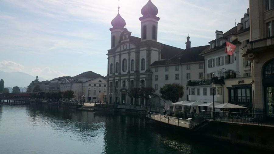 Iglesia Jesuita .Qué ver en Lucerna