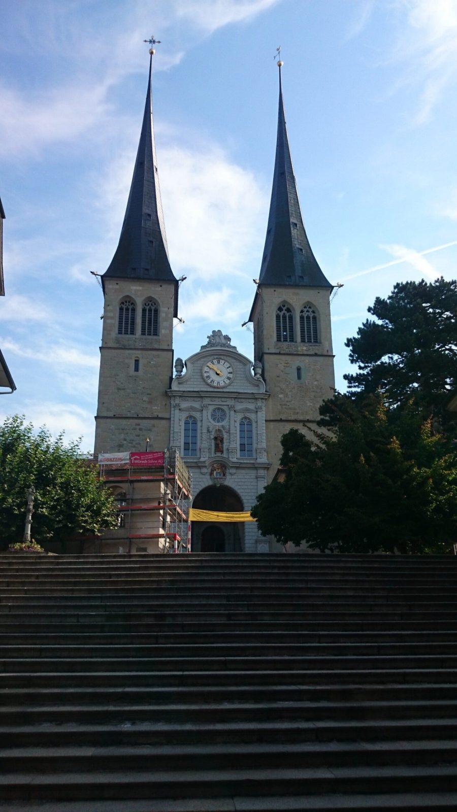 Hofkirche. Qué ver en Lucerna.