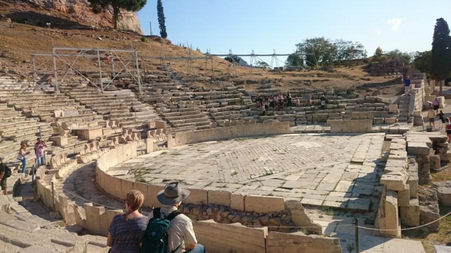 Teatro de Dioniso.