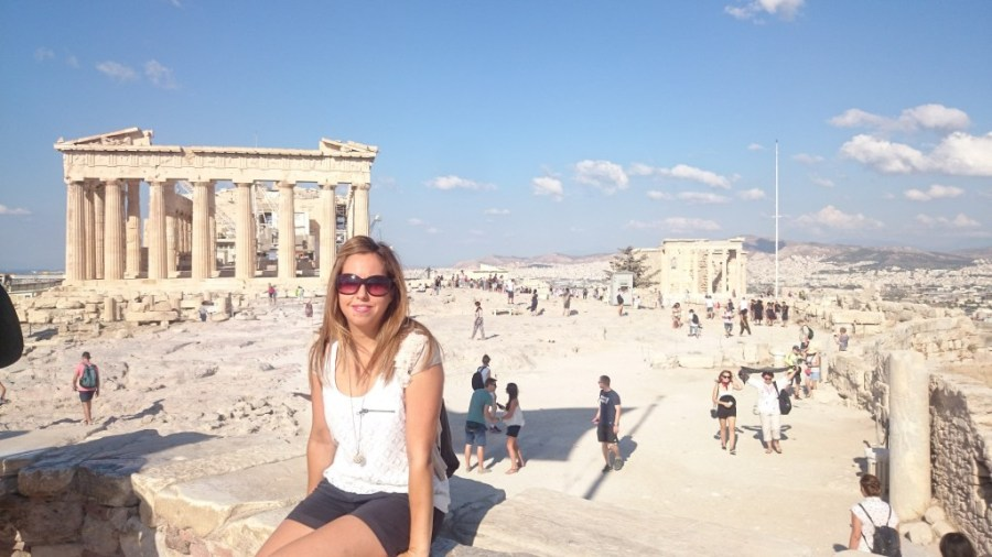 Partenón ateniense.