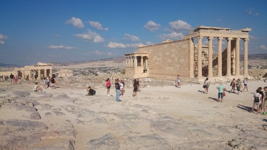 Qué ver en Atenas. Erection