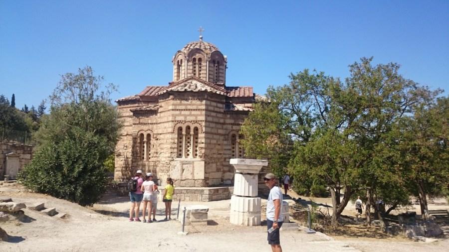 Qué ver en Atenas. Iglesia de los Santos Apóstoles