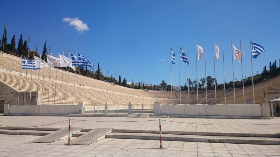 Qué ver en Atenas . Estadio Panatenaico.