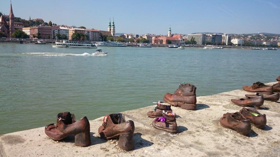 Budapest en 3 días. Monumento a los Zapatos