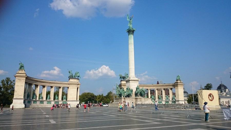 Budapest en 3 días. Plaza de los Héroes