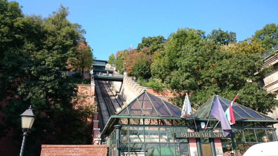 Budapest en 3 días. Funicular de Budapest.