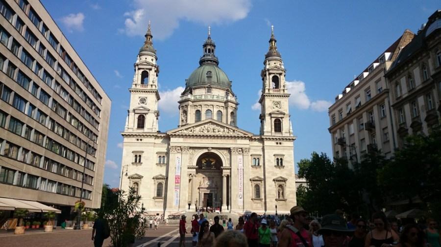 Budapest en 3 días. Catedral de San Esteban.