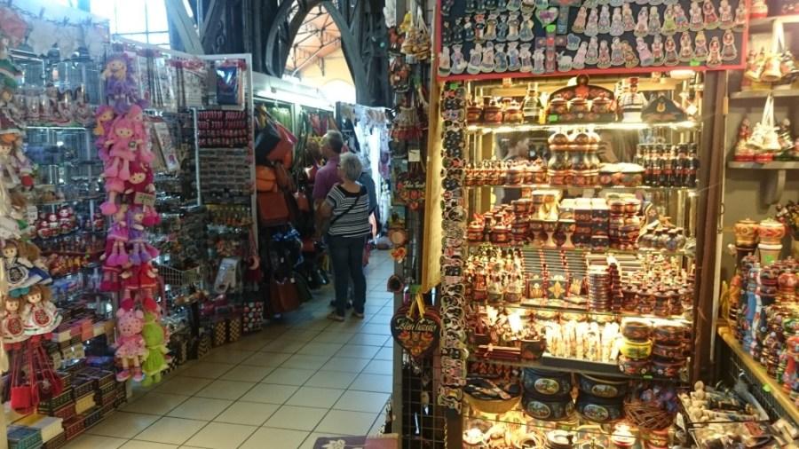 Interior del Mercado Central.