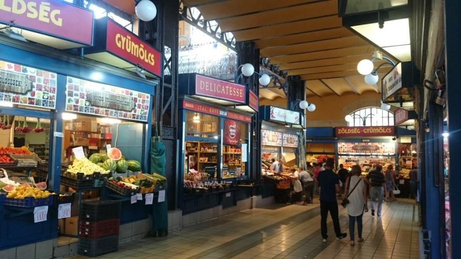 Qué hacer en Budapest. Mercado Central.