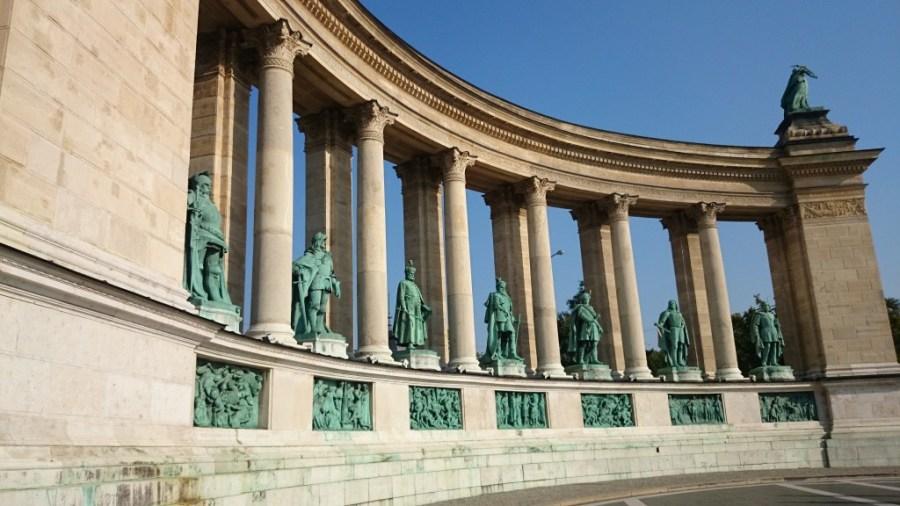 Qué ver en Budapest. Plaza de los Héroes