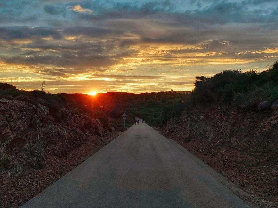 Puesta de sol Favàritx Menorca