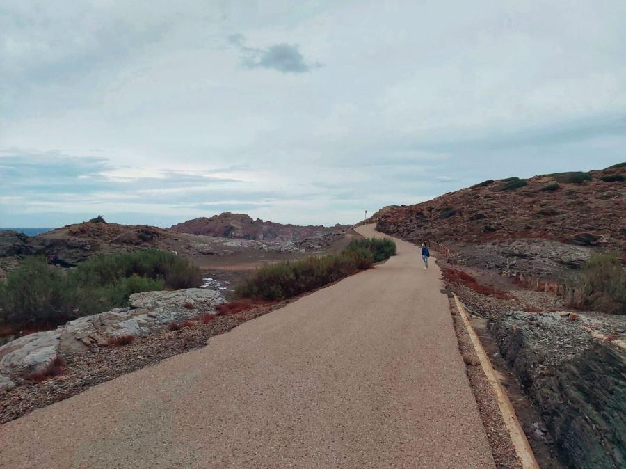 Ruta al faro de Favàritx en Menorca