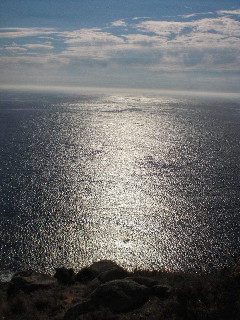 Inmenso océano.