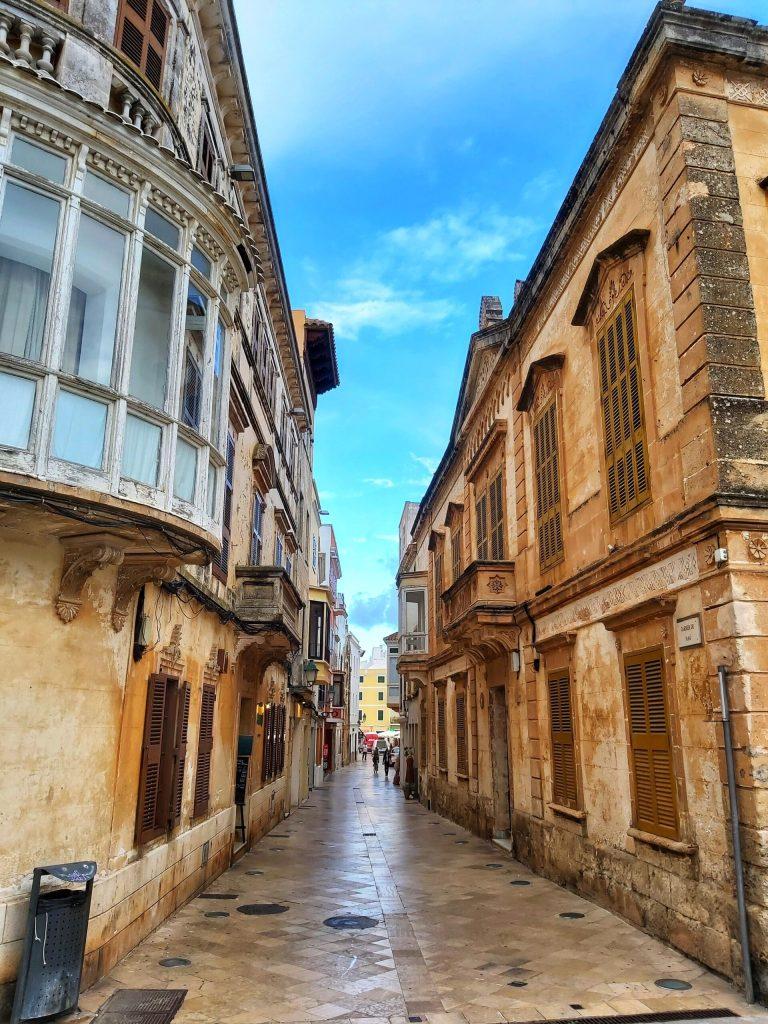 Qué ver en Ciudadela, calles del centro histórico