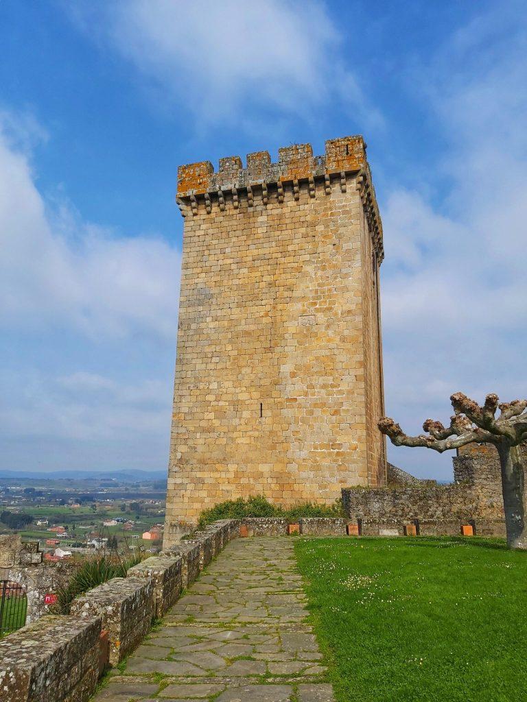 Qué ver en Monforte de Lemos. Torre del Homenaje.