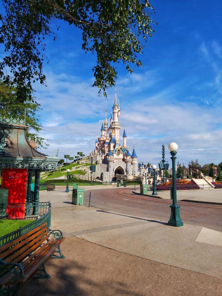 Castillo en Disneyland París.