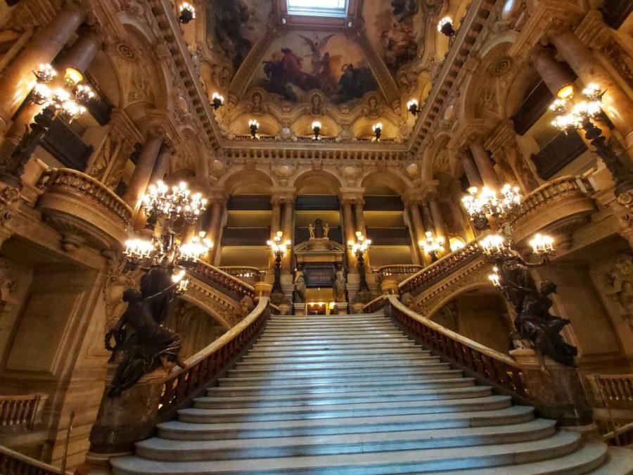 Escalera Ópera Garnier