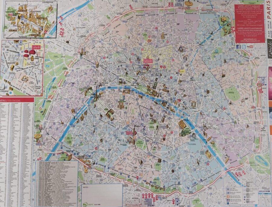 Plano de París.