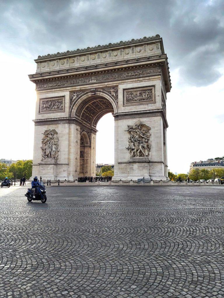 Qué ver en París en 3 días. Arco del Triunfo