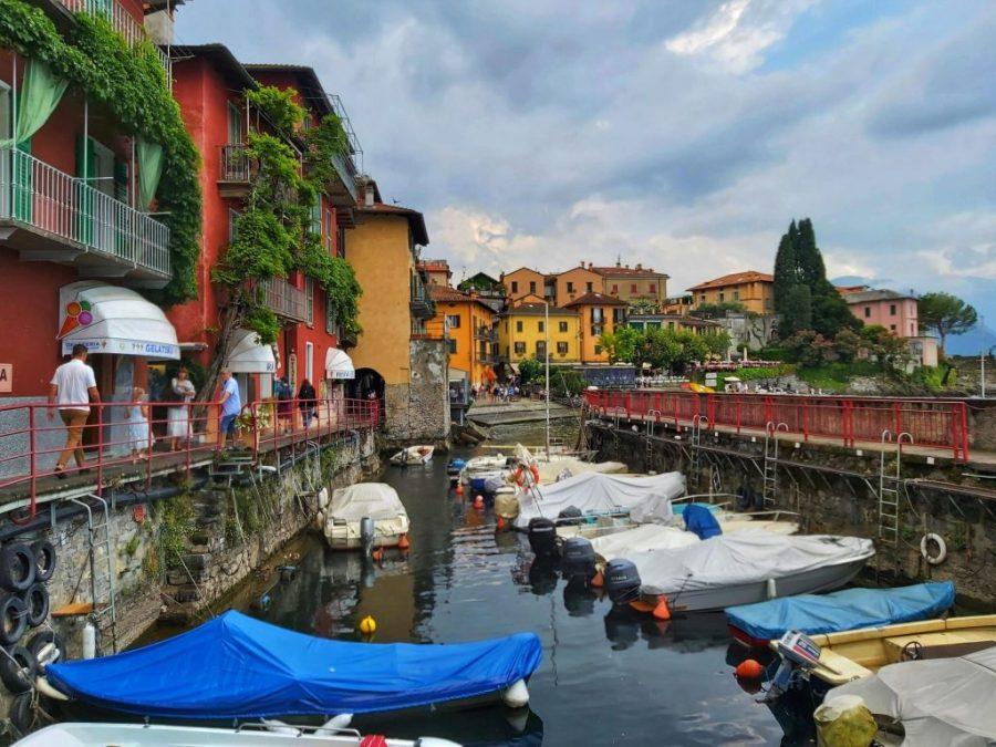 Qué hacer en el lago di Como.Barcos Varenna