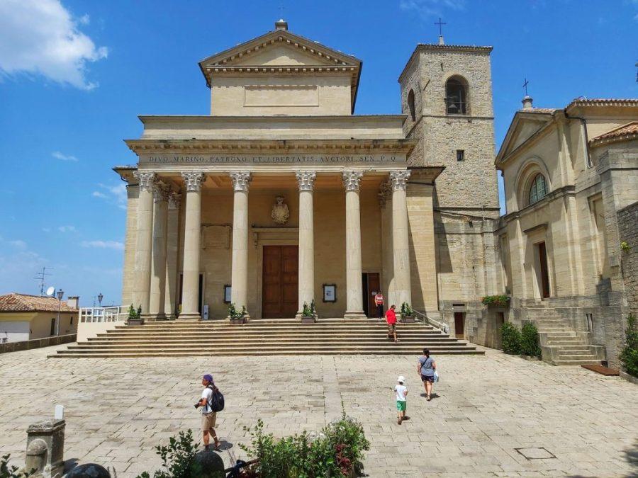 Qué visitar en San Marino, basílica