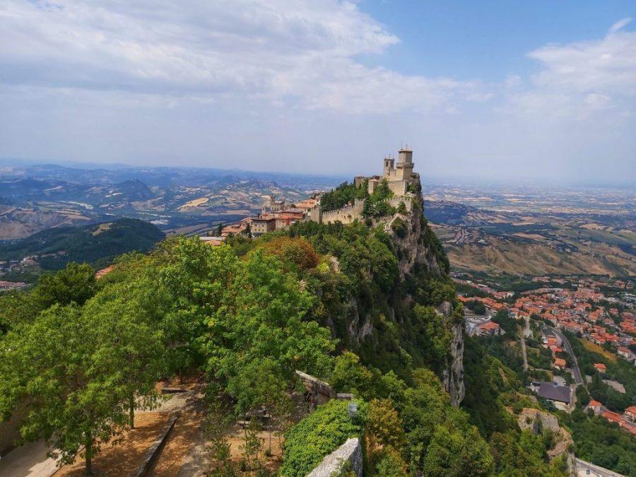 Qué visitar en San Marino. las 3 torres.