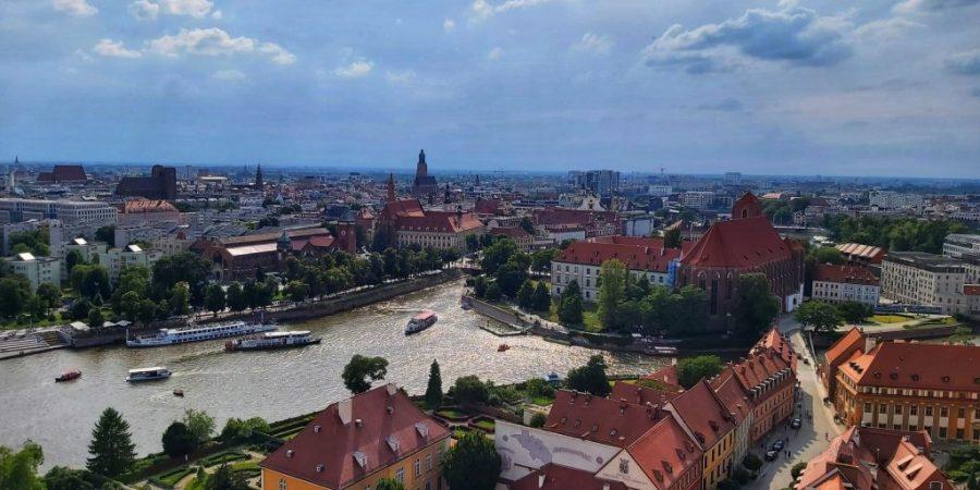Qué ver en Breslavia. Vistas de Wroclaw de