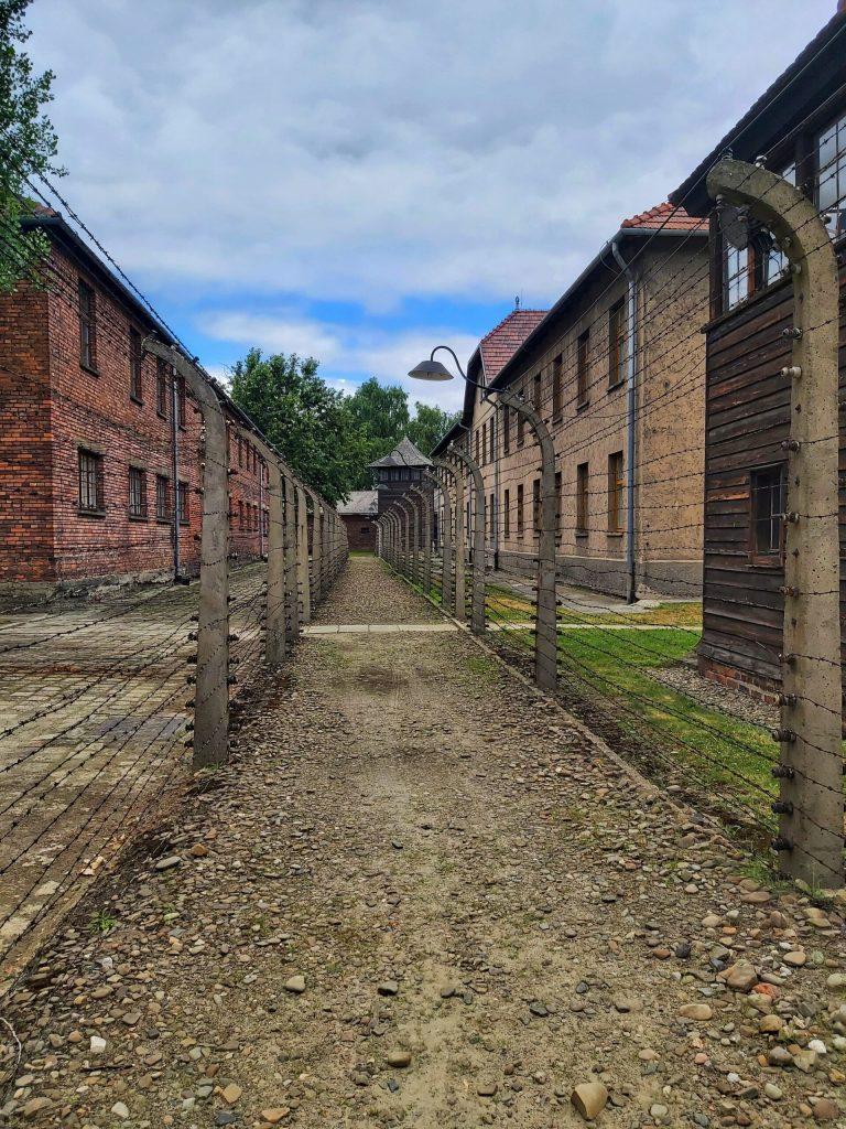 Características del campo de concentración de Auschwitz.